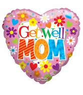 "18"" Get Well Mom Balloon"