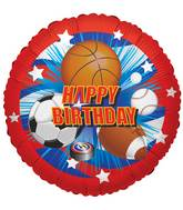 "18"" Birthday Sports Balloon"
