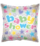 "18"" Baby Shower Clear View Balloon"