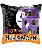 "18"" Halloween Haunted House Balloon"