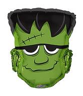 "18"" Green Monster Shape Balloon"