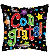 "18"" Colorful Congrats Gellibean Balloon"