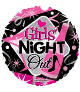 "18"" Girls&#39 Night Out Balloon"
