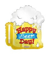 "18"" Beer Day Shape Balloon"