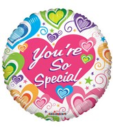 "18"" You&#39re So Special Many Hearts Balloon"