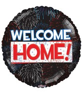 "18"" Welcome Home Fireworks Balloon"