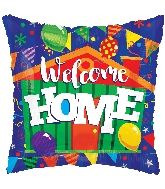"18"" Square Welcome Home Balloon"