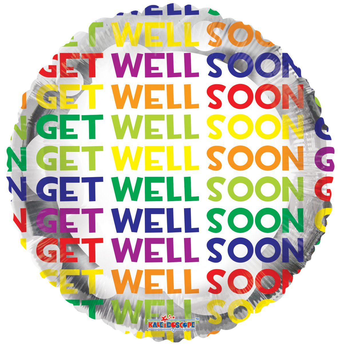 "18"" Many Get Well Messages Balloon"