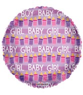 "18"" Baby Bottles Girl Balloon"