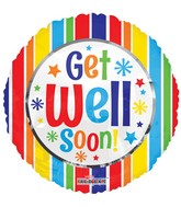 "18"" Get Well Soon! Balloon"