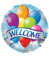 "18"" Welcome Banner &  Balloons Balloon"