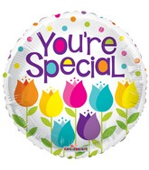 "18"" You&#39re Special Tulips Balloon"