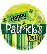 "18"" St Patrick&#39s Elements Balloon"