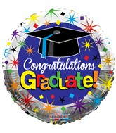 "18"" Congratulations Graduate! Balloon"