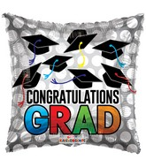 "18"" Grad Hats Balloon"