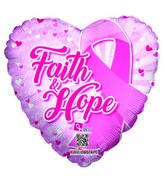 "18"" Faith & Hope Balloon"