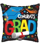 "18"" Grad Elements Balloon"
