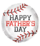 "18"" Father&#39s Day Base Ball Balloon"
