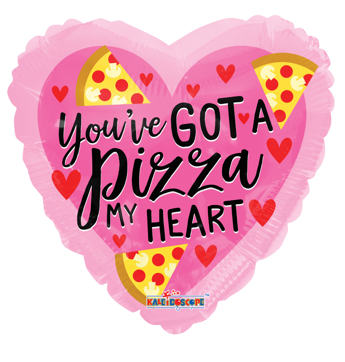 "18"" You Got A Pizza Of My Heart Balloon"