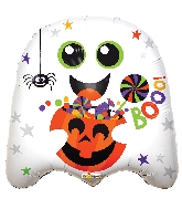 "18"" Booo! Ghost Shape Balloon"