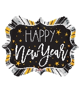 "18"" New Year Marquee Shape Balloon"