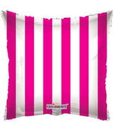 "18"" Square Balloon Hot Pink Striped Balloon Print"