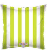 "18"" Square Balloon Lime Green Balloon Print"