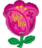 "28"" Felis Dia Flower Jumbo Balloon"