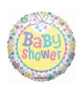 "18"" Baby Shower GelliBean Mylar Balloon"