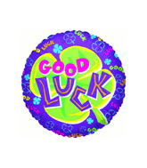 "18"" Good Luck Shamrock Balloon"