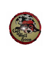 "18"" Get Well Soon Dog"