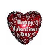 "18"" True Valentine Hearts"