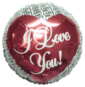 "36"" I Love You Round Balloon"