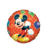 "18"" Disney Mickey Mouse Balloon Red"