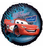 "18"" Happy Birthday Disney Cars Balloon"