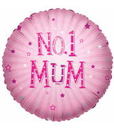 "18"" No.1 Mum Balloon"