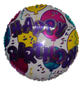 "18"" Happy Birthday Balloons Everywhere"