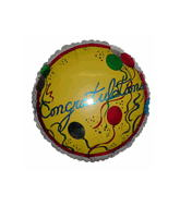 "18"" Congratulations Yellow Balloon"