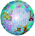 "18"" It&#39s a Girl Toys Balloon"