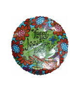 "9"" Airfill Happy Assistant�S Day Whimzy Flowers"