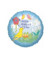 "18"" Happy Mother&#39S Day Bird Balloon"