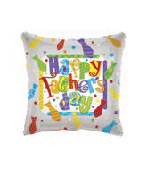 "18"" Father&#39s Day Ties Mylar Balloon"