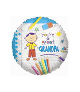 "18"" You�re A Great Grandpa Balloon"