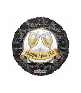 "18"" Happy New Year&#39s Champagne Glasses"
