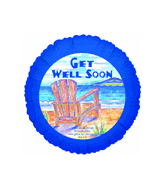 "18"" Get Well Soon Relaxing Balloon"