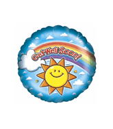 "18"" Get Well Sun Balloon"