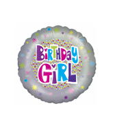"18"" Birthday Girl Balloon"