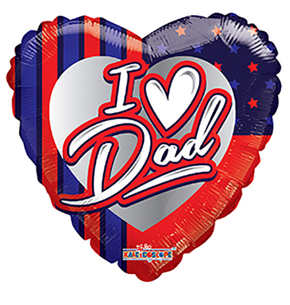 "18"" I Love You American Dad Balloon"