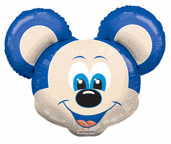 "28"" Jumbo Balloon Mouse Shape"