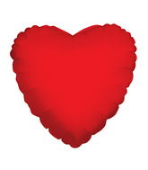 "18"" Solid Red Heart Brand Convergram Balloon"
